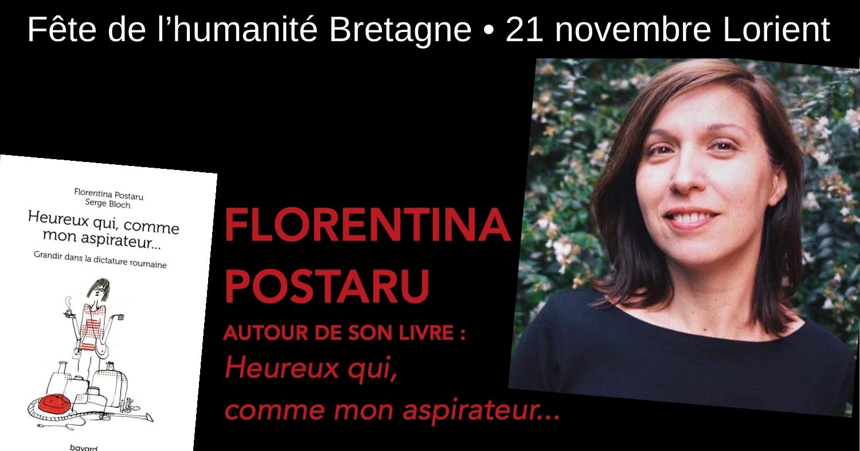 Rencontre avec Florentina Postanu à Lorient
