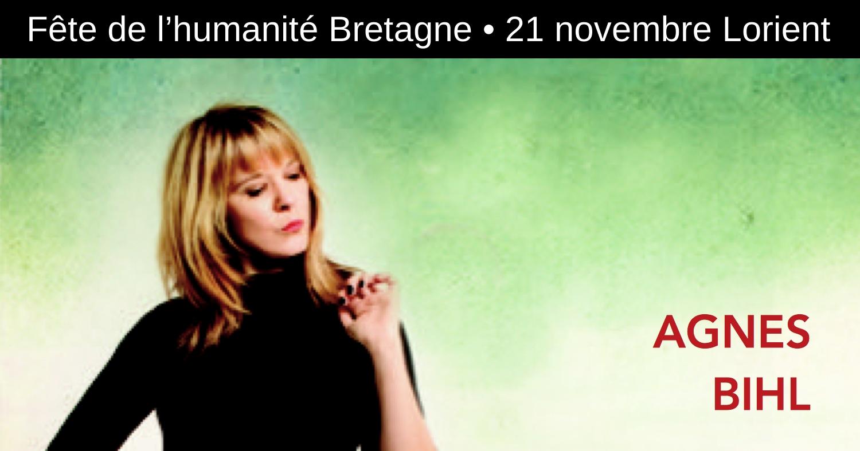 Agnès Bihl en concert à Lorient