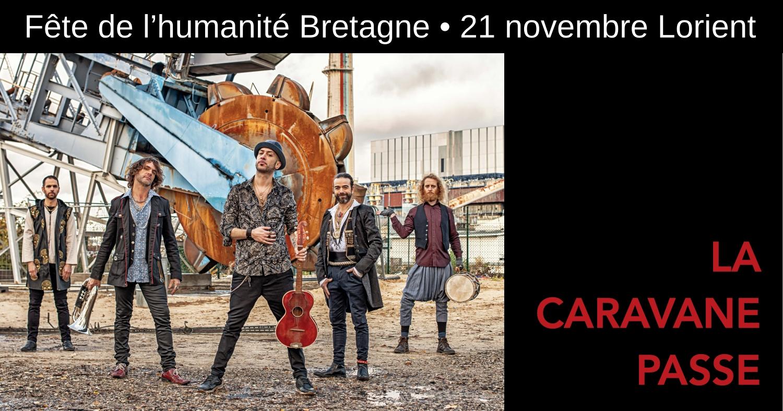 La caravane passe en concert à Lorient