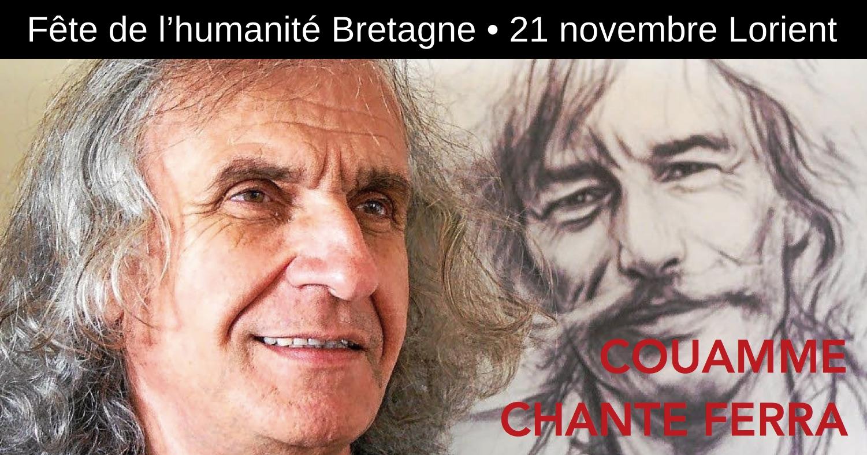 Couamme chante Ferrat à Lorient